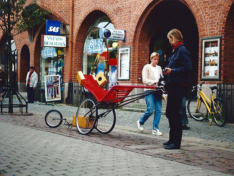 rauke Eckhardt, Klangkunst, Saarbrücken, Ort, KlangMobil