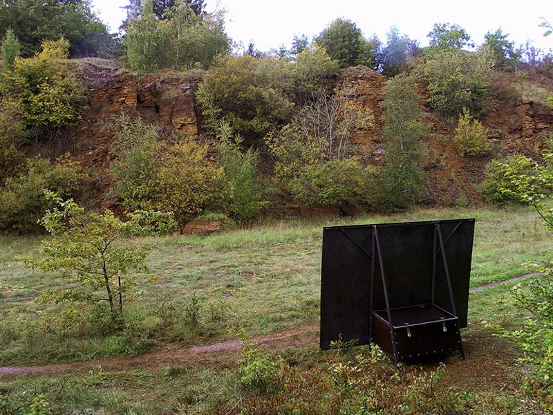 rauke Eckhardt, Klangkunst, Saarbrücken, Ort, Nachhall