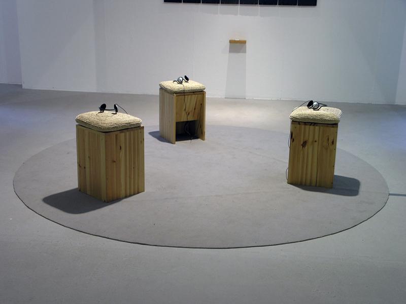 rauke Eckhardt, Klangkunst, Saarbrücken, Ort, Trio