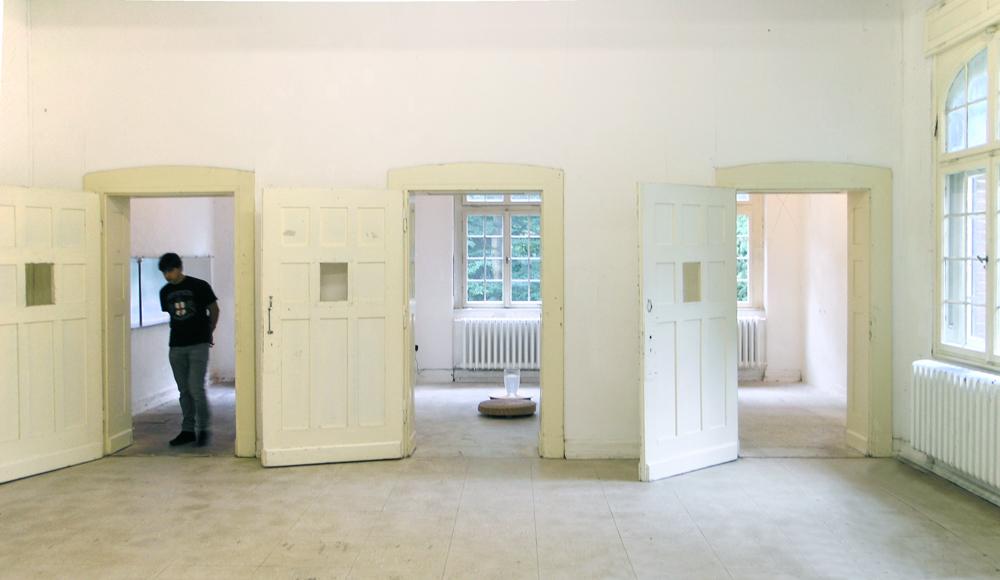 Frauke Eckhardt, Interaktive Klanginstallation, ArToll, Bedburg-Hau 2016