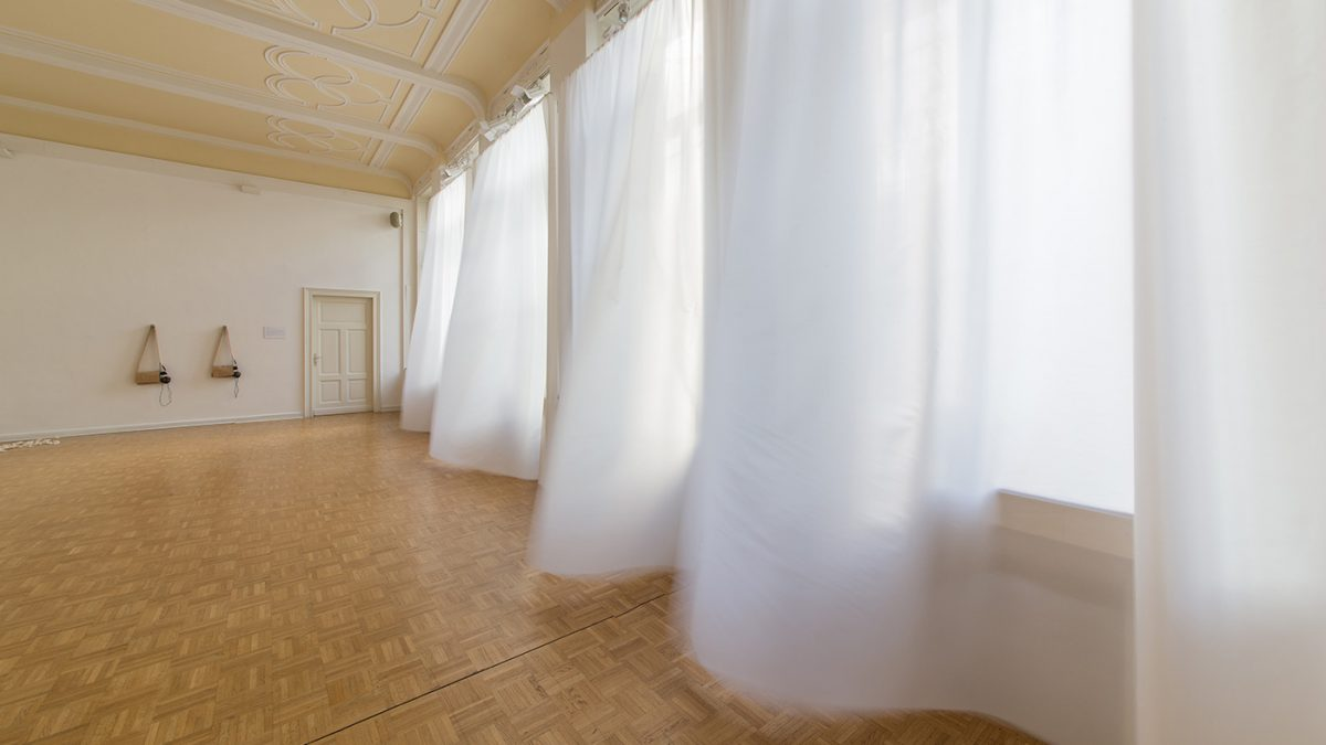 Frauke Eckhardt, Interaktive Klanginstallation, Kunstverein Bellvue-Saal, Wiesbaden, 2019