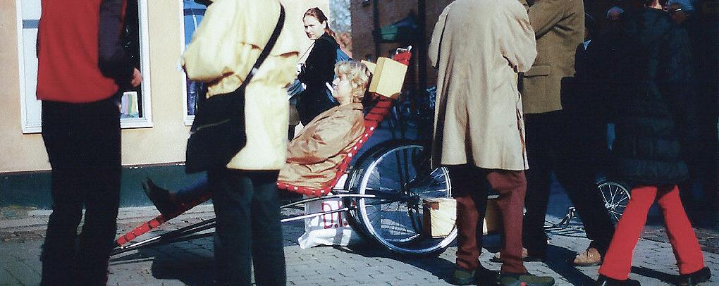 rauke Eckhardt, Klangkunst, Saarbrücken, KlangMobil, 1999, Ystad